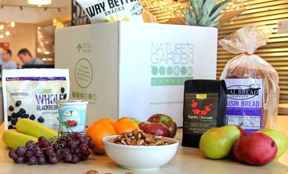 image for $27 for $50 Toward Customizable Delivered Box of Organic <strong>Groceries</strong> from Nature's Garden Express