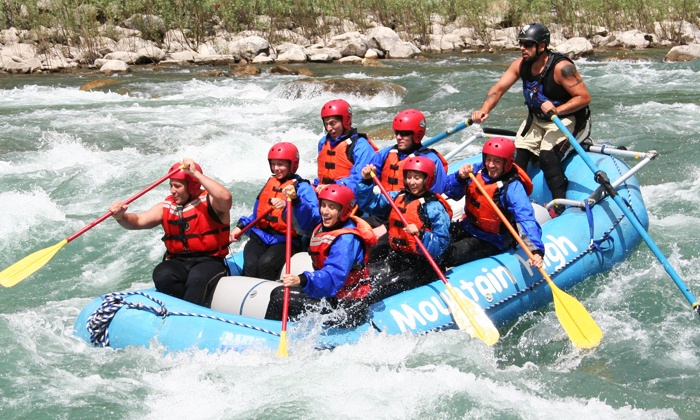 Mountain High Adventures - Stanford Resort: Full-Day Whitewater-Rafting Trip for Two or Four from Mountain High Adventures in Fernie (Up to 52% Off)