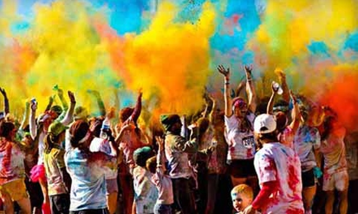 The Color Burst 5K - Anaheim-Santa Ana-Garden Grove: The Color Burst 5K Fun-Run Registration for One, Two, or Four on June 29 Organized by The Charity Bomb (Up to 58% Off)