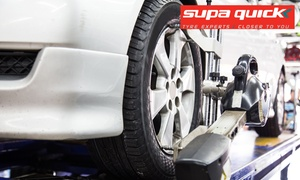 Super Quick Woodlands: 3D Wheel Alignment from R99 for One Vehicle with Optional Balancing at Supa Quick Woodlands (66% Off)