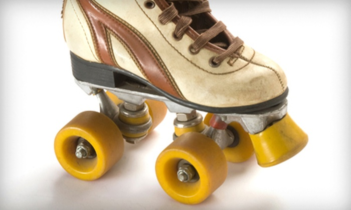 Cal Skate - Rohnert Park: One or Three Roller-Skating Sessions for Four at Cal Skate (Up to 54% Off)