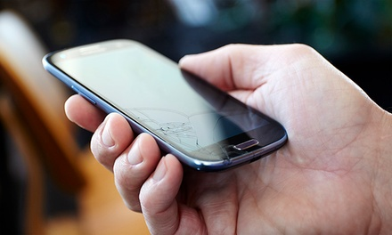 Smartphone or Tablet Glass Repair at Wireless Land (Up to 50% Off). Seven Options Available.