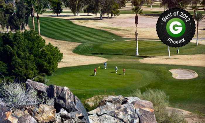 Tres Rios Golf Course - Goodyear: 18-Hole Round of Golf for Two or Four with Cart Rental and Range Balls at Tres Rios Golf Course (Up to 53% Off)