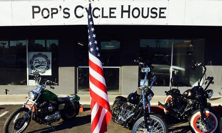 50% Off at Pops Cycle House
