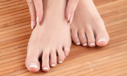 One or Two Medical Mani-Pedis at Ankle N Foot Center (52% Off)