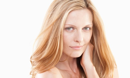 Color, Highlights, and Blow-Dry from By His Hands Hair Salon & Spa (55% Off)