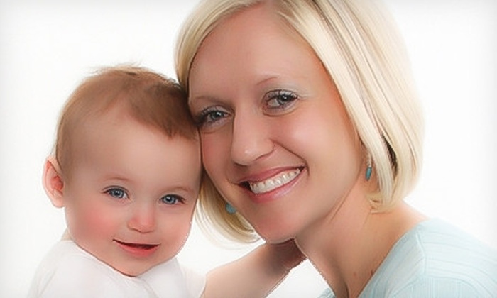 Kiddie Kandids Portrait Studio - Multiple Locations: $35 for a Deluxe Portrait Bundle at Kiddie Kandids Portrait Studio ($184.91 Value)