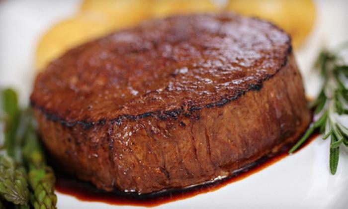 White Oaks Restaurant - Westlake: $20 for $40 Worth of Upscale American Cuisine Sunday–Friday at White Oaks Restaurant