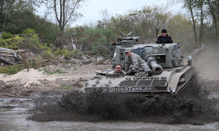 Drive A Tank - Kasota: Tank-Driving Experience for One, Two, or Four at Drive A Tank (Up to 44% Off)