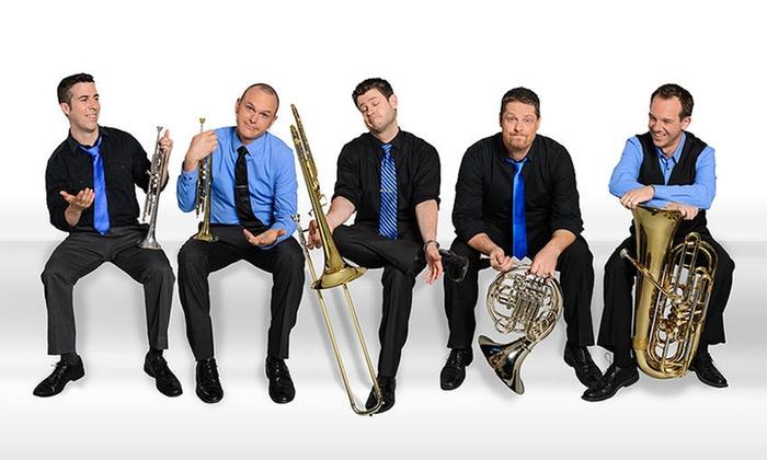 Presidio Brass - Irving Arts Center: Presidio Brass on November 16 at 7:30 p.m.