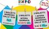 Fino a 3 biglietti Expo 2015