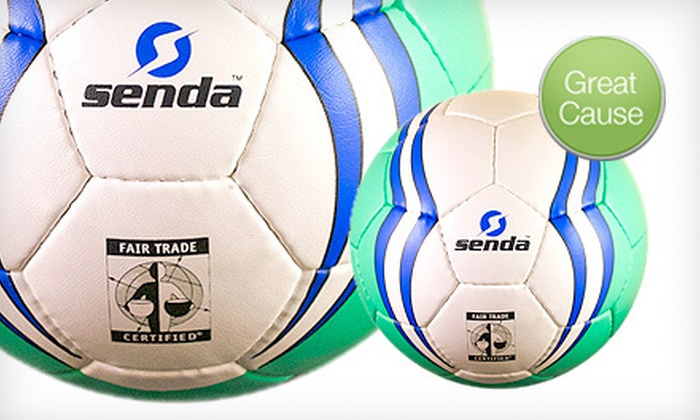 Senda Athletics - South Berkeley: Fair-Trade Soccer Balls (Up to 43% Off)