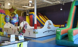 Sport Bounce of Loudoun: Five Open-Jump Passes or Parents' Night Out or Lunch Bunch at Sport Bounce (Up to 50% Off)
