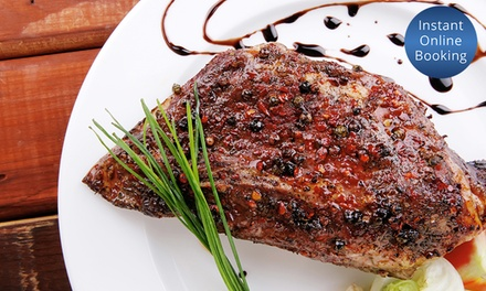 TwoCourse Meal with Wine for Two $58, Four $116 or Six People $174 at Atlantis Bar and Dining Up to $384 Value