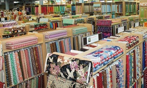Fabric Place Basement: $25 for $40 Worth of Fabric, Yarn, Sewing Notions, and More at Fabric Place Basement