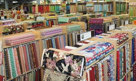 $25 for $40 Worth of Fabric, Yarn, Sewing Notions, and More at Fabric Place Basement