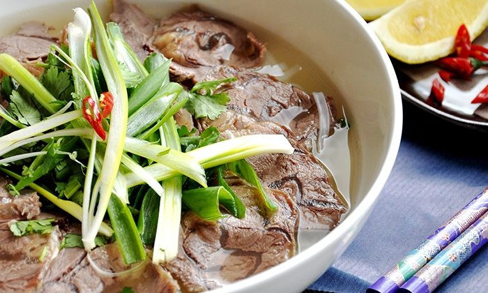 I Love Pho - I Love Pho Restaurant: $6 Pho Noodles and a Drink or $8 to Add Two Spring Rolls at I Love Pho, North Sydney (Up to $16 Value)