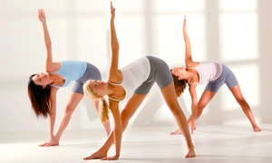 Burn Fitness Studio: 10 or 20 Yoga Classes at Burn Fitness Studio (Up to 72% Off)
