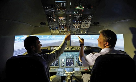 One 30- or 60-Minute Jet Flight Simulator (Up to 54% Off)