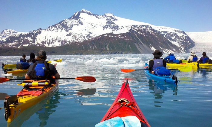 Miller's Landing - Portage Valley: Guided Kayaking Tours for Two or Four from Miller's Landing (Up to 61% Off). Five Options Available.