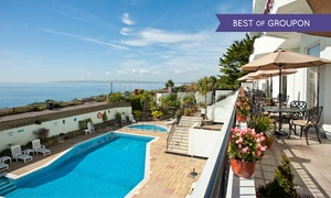 Hallmark East Cliff Court: Afternoon Tea by the Sea for Two or Four at Hallmark Hotel Bournemouth East Cliff Court
