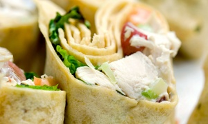 Angora Café: $15 for Three Groupons, Each Good for $10 Worth of Pizza, Paninis, and Roll-Ups at Angora Café ($30 Value)