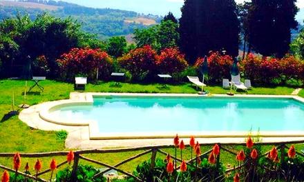 Perugia, Villa Sobrano Country House: fino a 5 notti in camera matrimoniale o doppia e colazione per 2 persone