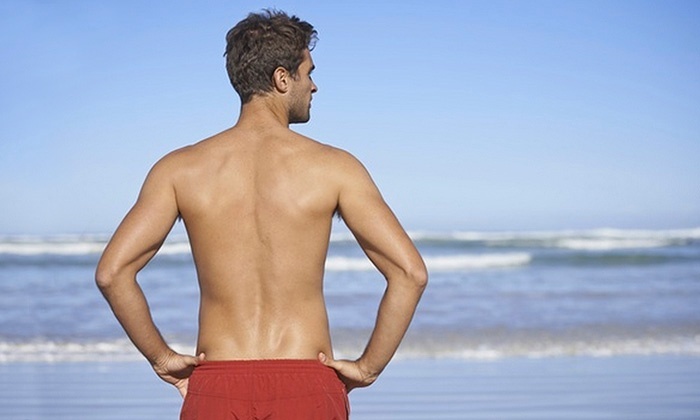 Vacation Body Waxing - North York: C$35 for One Session of Men's Full-Back and Shoulder Waxing at Vacation Body Waxing (C$75 Value)