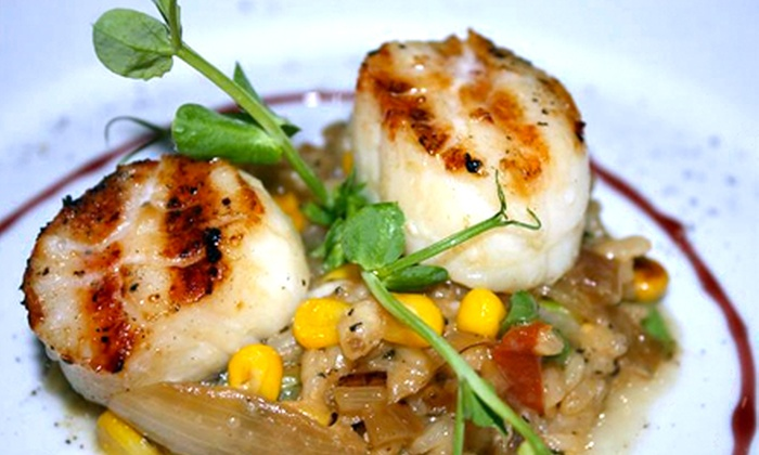 Oar Steak & Seafood Grill - Patchogue: Dinner for Two or Four at The Oar Steak & Seafood Grill (Up to Half Off)