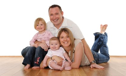 image for £17 for a Family Photography Session With Framed Portrait with Barrett & Coe (89% Off), Choice of UK Location