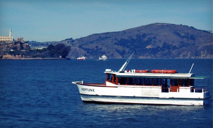 San Francisco Bay Boat Cruises, LLC. - San Francisco: $29 for a 90-Minute Wine Voyage with Appetizers and Wine Tasting from San Francisco Bay Boat Cruises, LLC. ($60 Value)