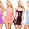 2-Pack of Neon Layering Mini Dresses