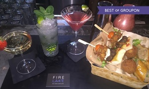 Fire Lake @ Radisson Blu Leeds: Cocktail Masterclass with Two Cocktails, Prosecco and Food Platter at Fire Lake at Radisson Blu Leeds (Up to 50% Off)