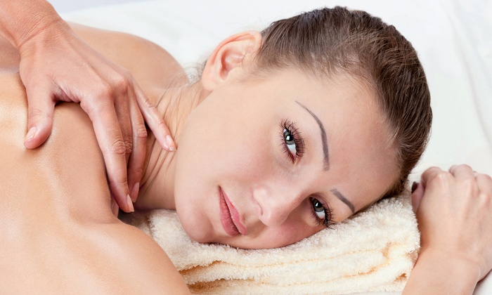 Enliven Skin and Beauty - Canyon Gate: $42 for a One-Hour Back Facial and Upper-Body Massage at Enliven Skin and Beauty ($80 Value)