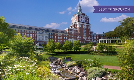 Stay at The Omni Homestead Resort in Hot Springs, VA, with Dates into May