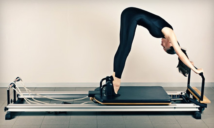Pilates by T - Hinsdale: Three Group or Private Pilates Reformer Classes at Pilates by T in Hinsdale (Up to 53% Off)