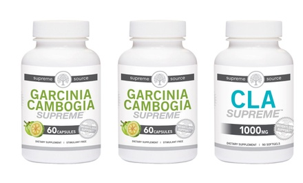 Supreme Source Garcinia Cambogia and CLA Supreme Weight-Loss Supplement Bundle
