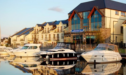 Co. Leitrim: 1 or 2 Nights for Two with Breakfast, Welcome Drinks and Late Check Out at The Marina Hotel