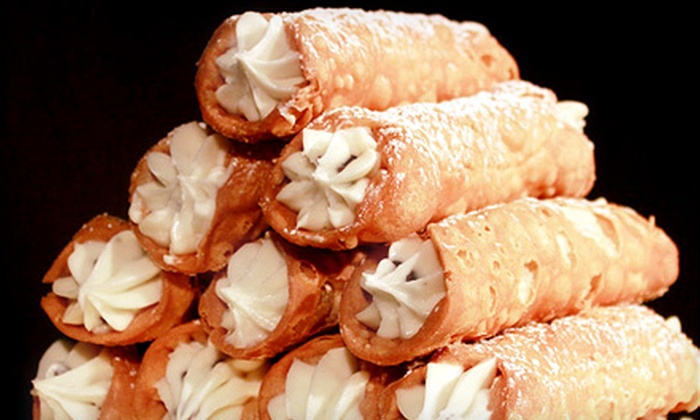 Iannelli's Famous Brick Oven Bakery & Cafe - Bella Vista - Southwark: One Dozen Cannoli or $20 for $40 Worth of Italian Food at Iannelli's Famous Brick Oven Bakery & Cafe