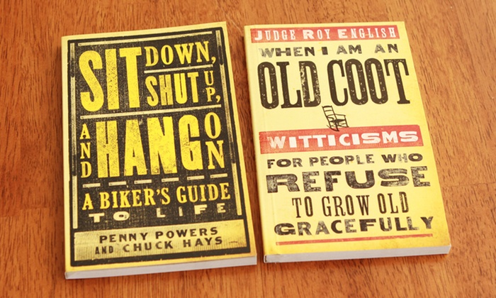 Pocket-Sized Humor Books: Pocket-Sized Humor Books. 1 or Both Titles from $6.99–$11.99.