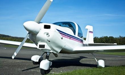 60 oder 120 Min. Ultraleichtflugzeug selber fliegen inkl. Theorieunterricht bei Pilot Inside (bis zu 49% sparen*)