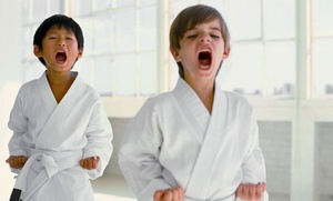 Kids Love Martial Arts: 10 or 20 Classes with Initiation and Uniform at Kids Love Martial Arts (Up to 89% Off)