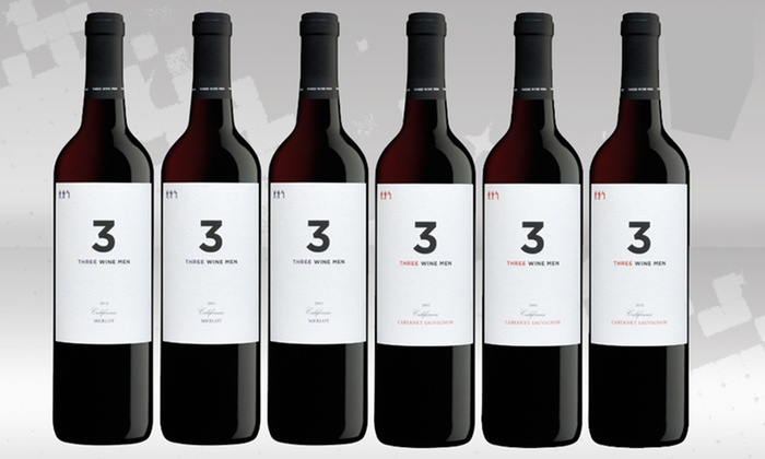 6 Bottles of 3 Wine Men Red Wines: 6 Bottles of 3 Wine Men Red Wines