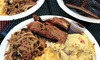 Bonehead's Texas BBQ - Bonehead's Texas BBQ: $25 or $50 Worth of Barbecue for Two or Four People at Bonehead's Texas BBQ (Up to 42% Off)