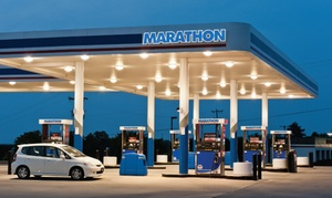 CentsOff Marathon, powered by Drop Tank: Gas Discount Code: 10 Cents Off Per Gallon at CentsOff Marathon Locations (Up to 20% Off)