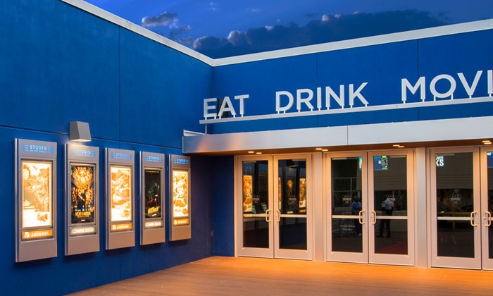 Studio Movie Grill - Tampa: One, Two, or Four Groupons, Each Good for One Movie Ticket at Studio Movie Grill (Up to 44% Off)