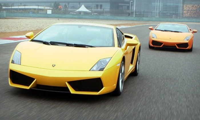 Global Exotic Car Rentals - Wild Horse Race Pass: Exotic Car Driving or Ride-Along Session from Global Exotic Car Rentals (Up to 70% Off)