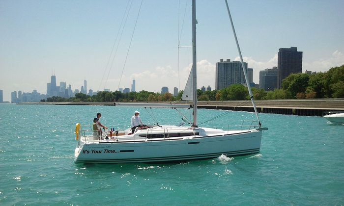 Chicago Yacht Share - Lakeview/Lincoln Park: $95 for 2.5-Hour Intro to Sailing Course at Chicago Yacht Share ($200 Value)