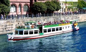 """Spree & Havelschiffahrt Reederei Grimm & Lindecke: """"Berlin-City-Tour"""" auf der Spree für Zwei oder Vier mit Spree- & Havelschifffahrt Reederei Grimm & Lindecke"""