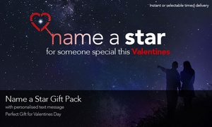 Star Listings International: Personalised Name-a-Star Gift Sets, Inc. PDF Version with Text message & eBook - Star Listings UK (Up to 52% Off)